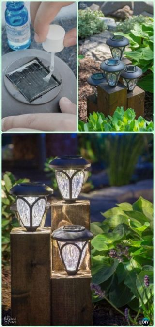 How To Install Solar Garden Lighting