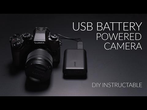 USB Powered Electronic Camera – Get 8+ hrs for your DSLR or Mirrorless